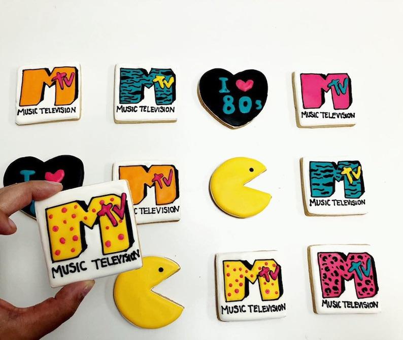 12 Mtv cookies