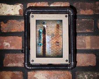 Industrial Urban Framed Photo