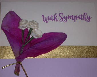 Sympathy Card/Grief/Thinking of You/Death of Loved One