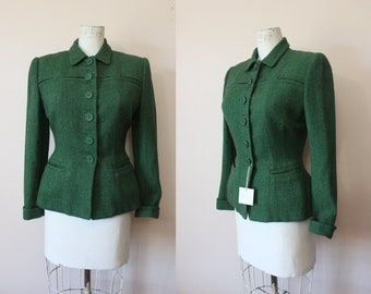 Womens Wool Suit Etsy