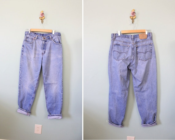 Jordache relaxed loose fit high waist jeans | 1990