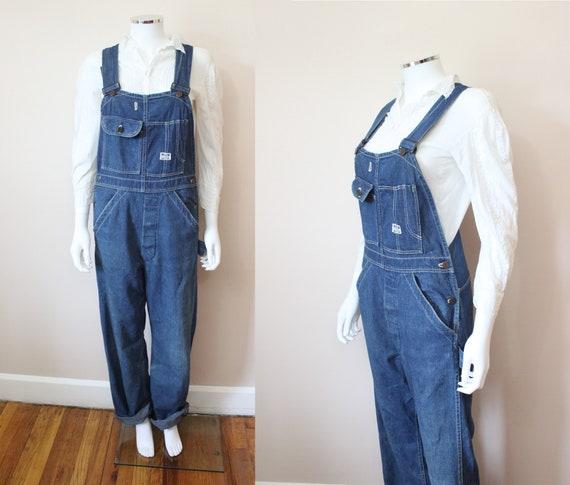 Rare 1940s Women's Sanforized denim overalls | 40s