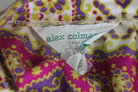 Alex Colman maxi skirt   vintage 1970s psychedeli… - image 8