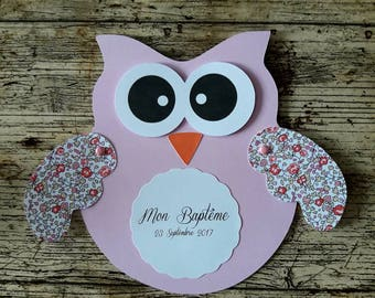 Invitation theme OWL / OWL