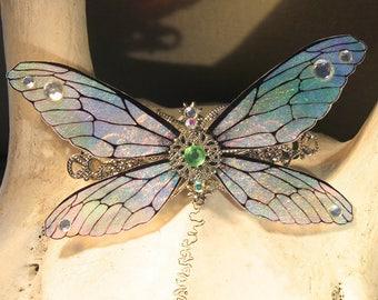 """Hair clip """"iridescent Butterfly Fairy"""" fairytale, fantasy, fantasy."""