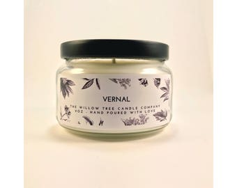 VERNAL | Soy Blend Candle | 9oz Candle | Scented Candle