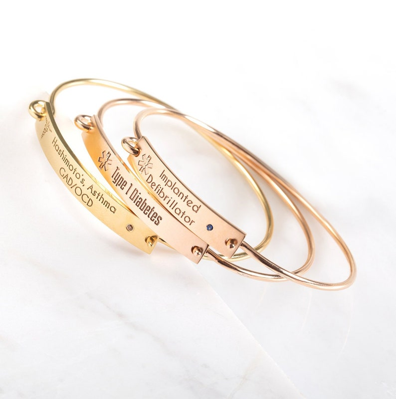 Medical Alert Bracelet >> Personalized Medical Id Bracelet Medic Alert Bracelet Diabetic Bracelet Medical Alert Bracelet Allergy Bracelet