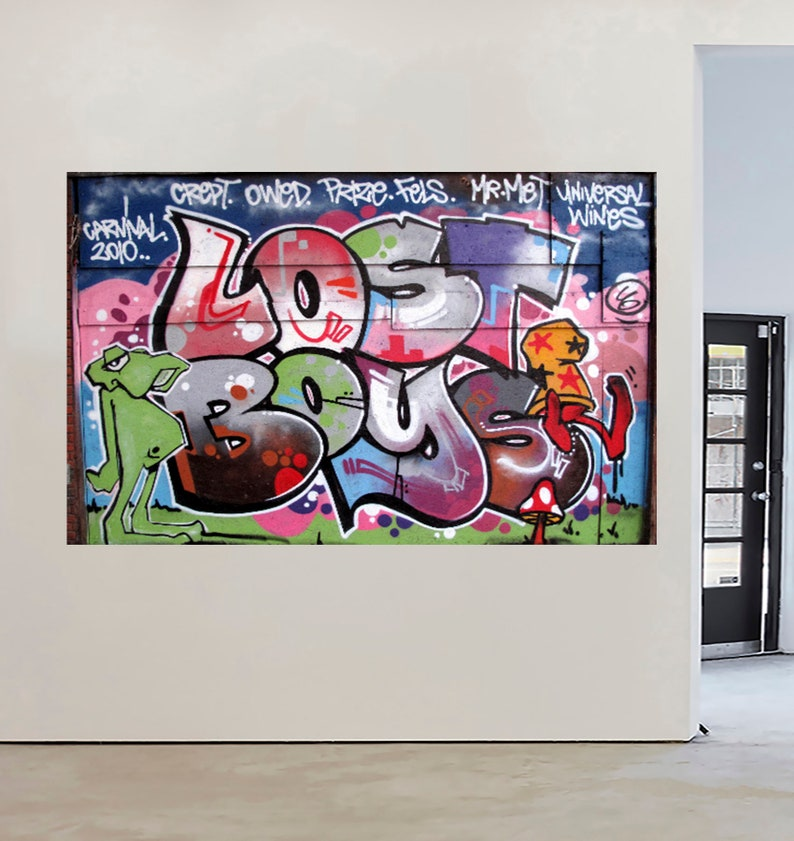 A0 SUPER SIZE CANVAS STREET ART GRAFFITI  PRINT urban  BANKSY wall decor