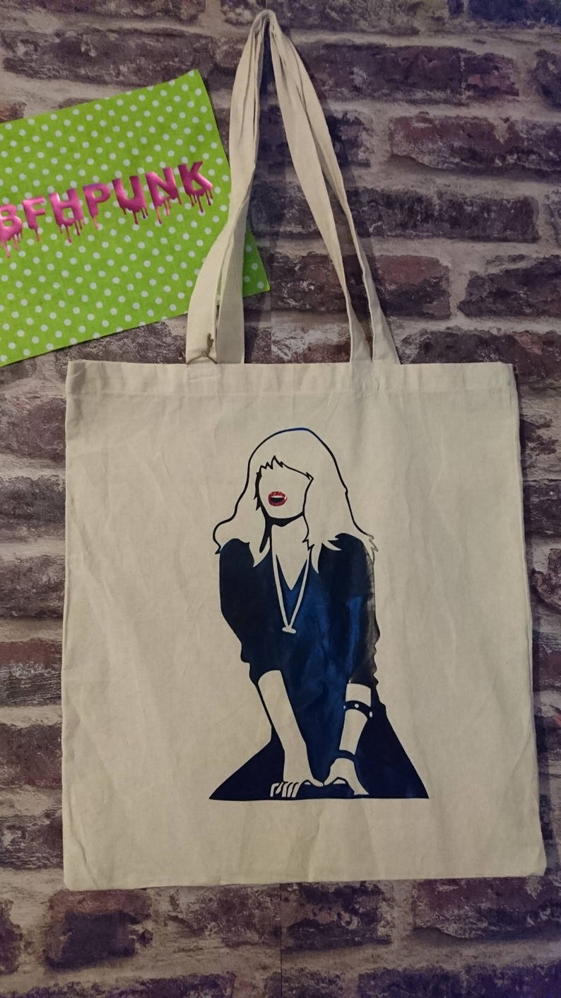 Grease 2 Michelle Pfeiffer Stephanie Zinone tote bag Cool image 0