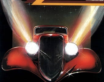 ZZ Top eliminator album cover poster 24 x 24 inches