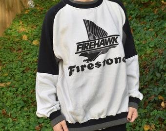 Vintage Firestone Racing Crewneck