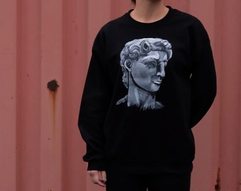 ONE OF A KIND Hand Painted Crewneck