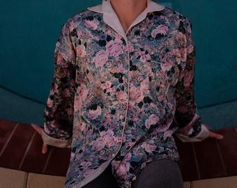Silk Chinese Kimono