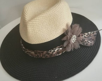 Chapeau «So Chic Bicolore»