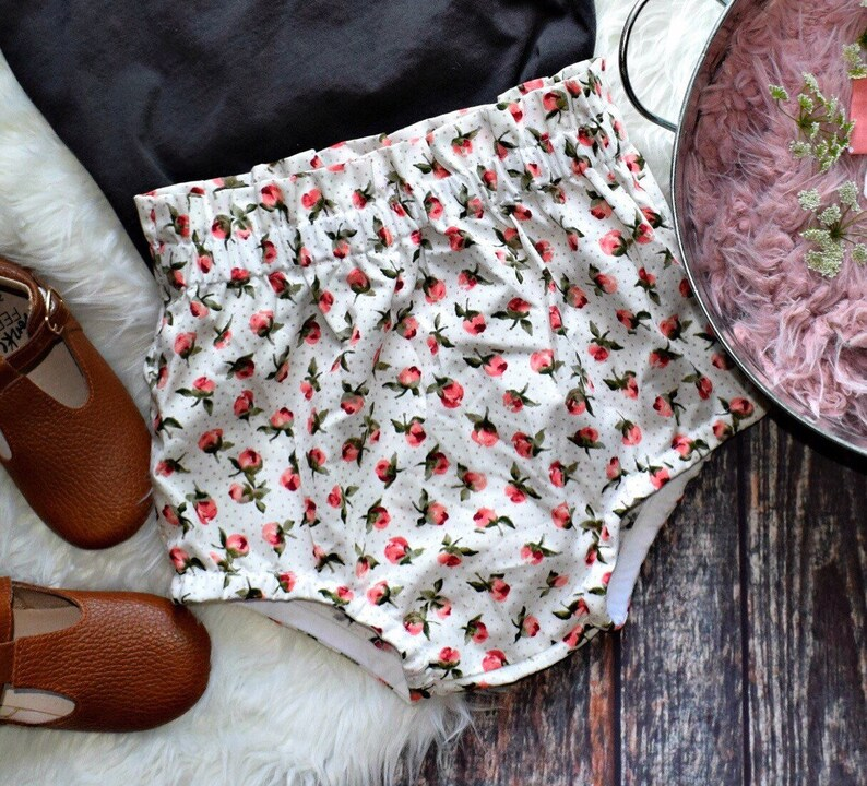 Rose /& Dot BloomiesRuffle Bottom Tank