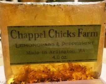 Lemongrass & Peppermint
