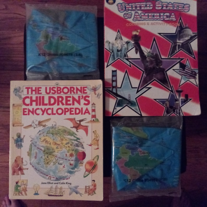 Chidrens/' Geography Educational Packet