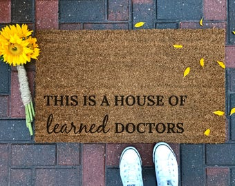Funny Doormat Etsy