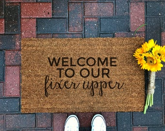 Welcome To The Shit Show Doormat Funny Doormat Welcome Mat