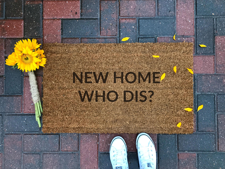Fußboden Graß Quotes ~ Neues zuhause die dis fußmatte custom fußmatte lustige