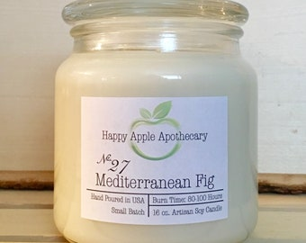 No. 27 Mediterranean Fig Soy Candle