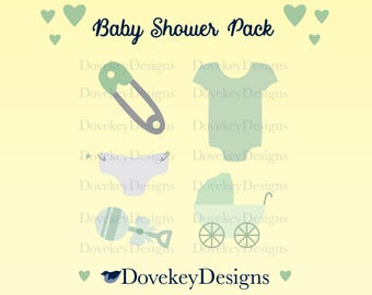 Baby Shower Pack for Cricut/Silhouette