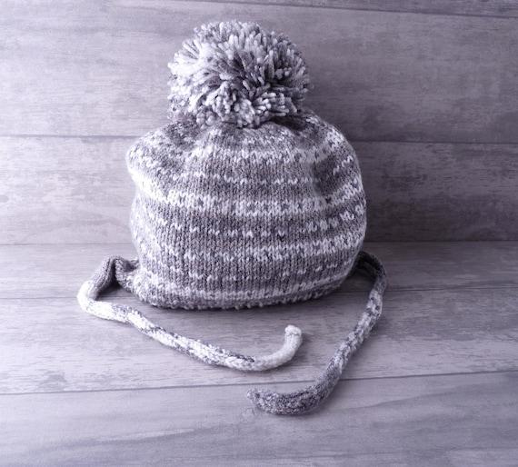 919eef26cf6e Baby hat in wool Peruvian 18 months baby knit hat Beanie