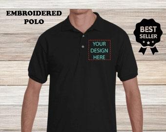 Custom polo shirt | Etsy