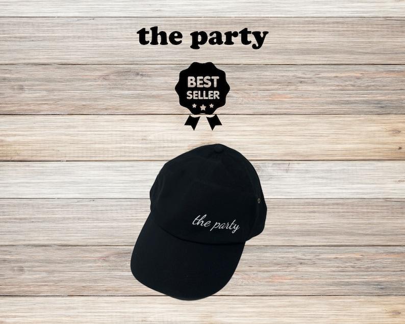Wife of the party The Party Cap Bride Squad Bridesmaid Hen Party Baseball Cap Trucker Rapper Cap Hat Bridal Party Caps