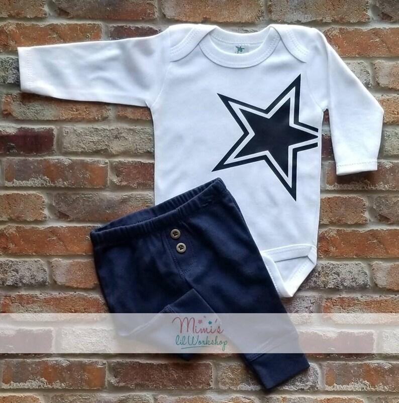 half off 2d5d1 058dd Cowboy Jersey Football Shirt Dallas Cowboy Star Shirt For Little Boys  Cowboys Football Game Day Boys Cowboys Fan Baby Shower Gift Dad