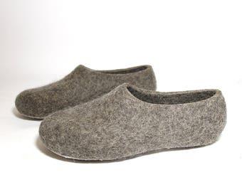 e4ec19de7e0 Boiled wool slippers