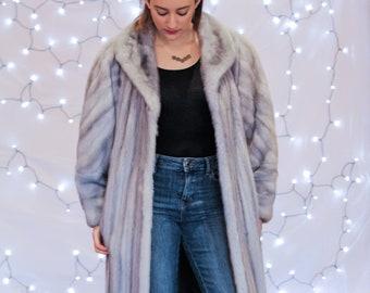 Mink Coat, Fur Coat, 1970's Coat, Vintage Coat, Sapphire, Mink, Fur, Winter Coat, Vintage Mink, Vintage Fur, Bohemian Fur, Responsible Fur