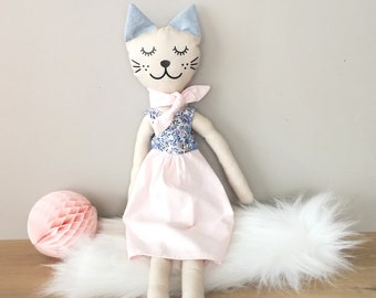 Lilac Wiltshire cat doll