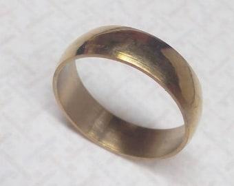 Ring band gold