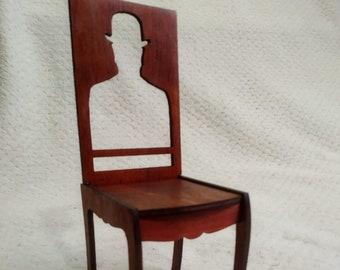 "angel demon wings chair for Dolls 1//6 12/"" for Barbie,FR RARE wooden V1"