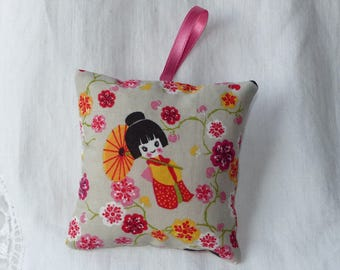 Small hanging cushion fabric
