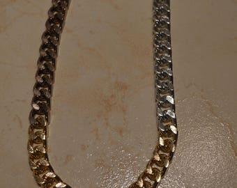 Knit 3 color chain