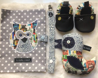 birth kit complete baby boy robots theme