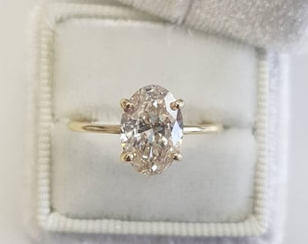 7bcfd3852ec 1 Carat Oval Diamond Engagement Ring