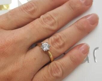 Solitaire Diamond Ring 2260c05a2eba