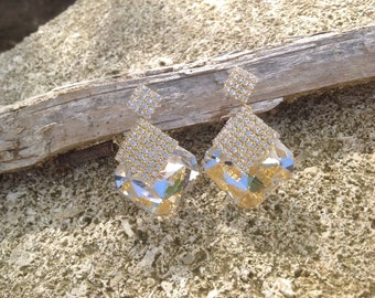 Resin glass rhinestones.