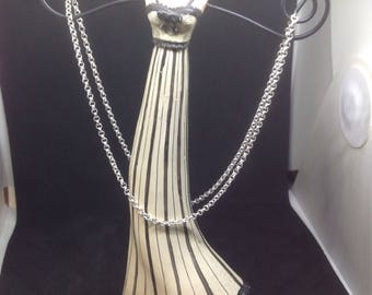 42cm Sterling Silver 925 mesh Rolo chain.