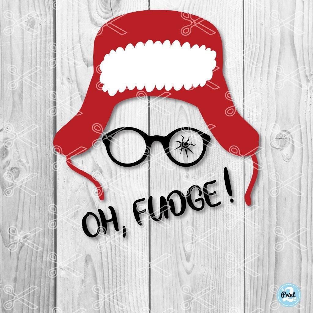 A Christmas Story SVG Ralphie Broken Glasses SVG Marvel   Etsy