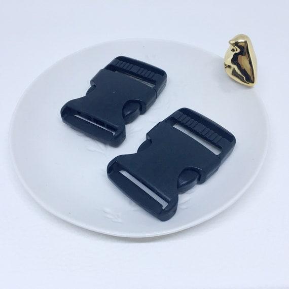 Boucle banane fermoir boucle noire à clips en plastique 20   Etsy 9be55d26636