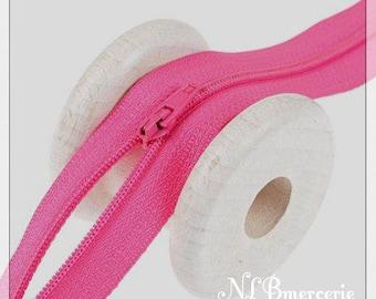 Zipper 18 cm - fuchsia pink
