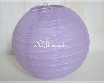 Lavender diameter 40 cm rice paper Lantern balls Chinese Lantern