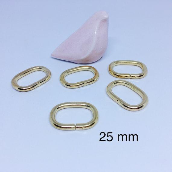 Boucle coulissante plastique pour sangle Lot 10 6f1d9892b7e