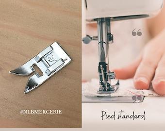 Standard foot, universal presser foot, crowbar, sewing machine foot
