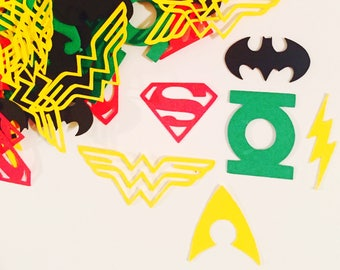 Justice League Confetti