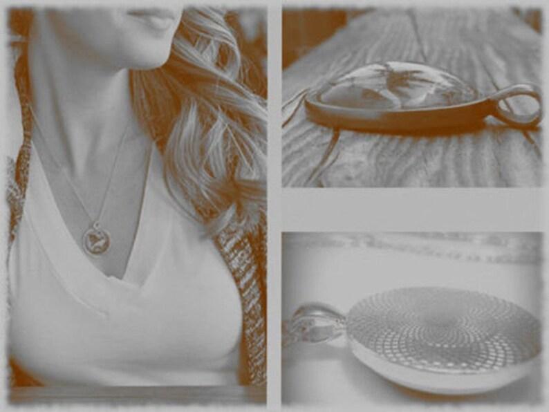 unicorn kawaii Locket glass cabochon pendant necklace Unicorn